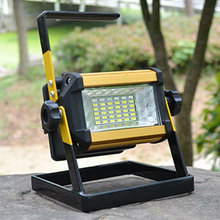 36 LED Rechargeable Portable Outdoor Camping Flood Light Spot Work Lamp Camping Fishing Lamp NEW