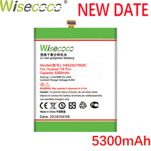 Wisecoco 5300mAh HB526379EBC Battery For Huawei Ascend Enjoy 5 Enjoy5 TIT-AL00 CL10 4C Pro/Y6 Pro Phone Latest Production original replacement phone battery for huawei enjoy 5 tit al00 cl10 honor 4c pro y6 pro hb526379ebc rechargeable battery 4000mah