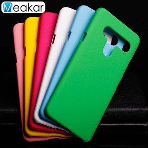 Image 1 - Matte Plastic Coque Cover 6.2For Lg V40 Case For Lg V40 Thinq Phone Back Coque Cover Case