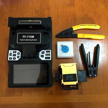 FF-710M Máquina de emenda automática por fusão SM e MM Máquina de emenda por fibra óptica Máquina de emenda por fibra óptica Soldadura por fibra Garantia vitalícia 1