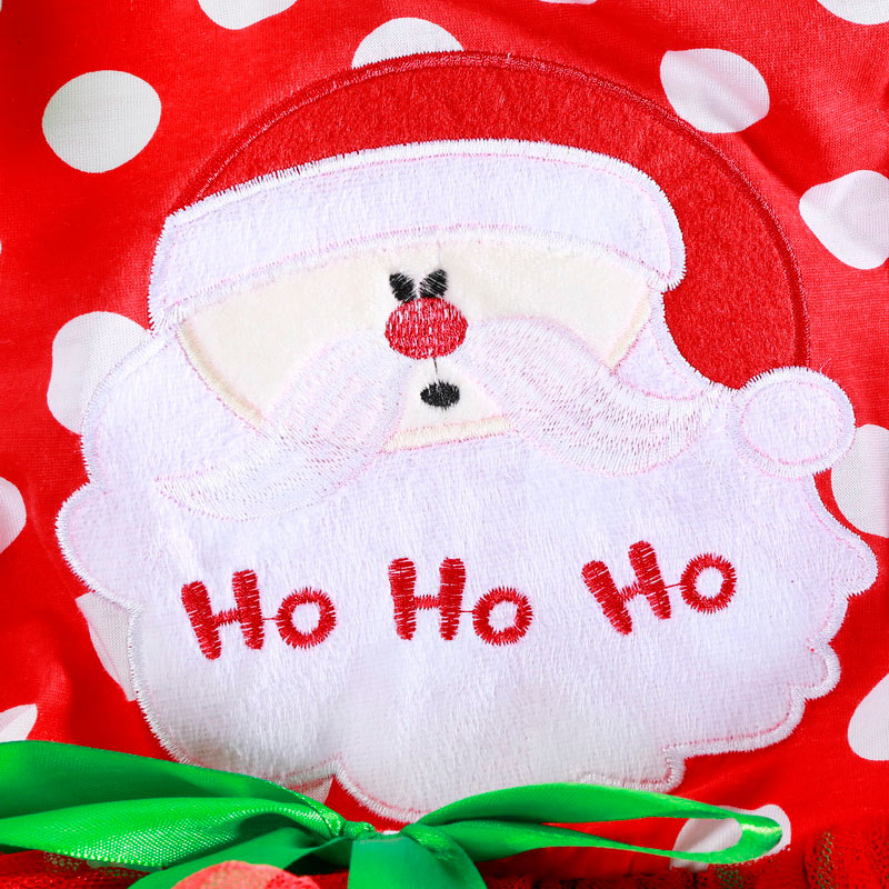 H55f87c4e23dd429ca739f49571d4ff2dm 2-6T Santa Claus Christmas Dress Kids Party New Year Costume Winter Snowman Baby Girl Clothes Christmas Tree Children Clothing