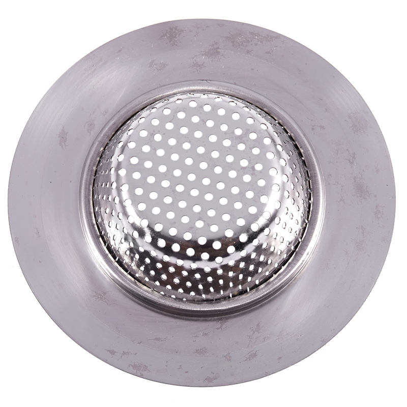 Perforated Mesh Design Floor Sink Drain Strainer 4.3 Inch Top Dia