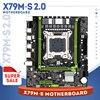 X79 motherboard USB2.0 PCI-E 16X LGA2011 M ATX  X79M-S 2.0 motherboard NVME M.2 SSD support REG ECC memory and Xeon E5 processor 1