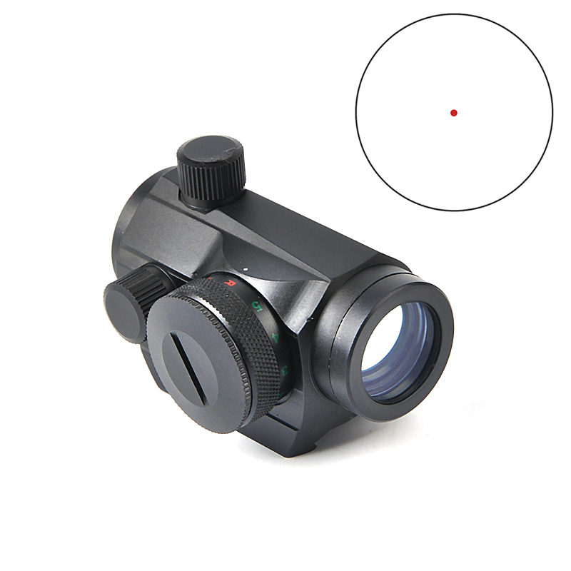 Tactical Red Micro Dot Sight Mini 1X24 T1 Rifescope Sight Sniper Red Green Dot Sight With Quick Release Red Dot Scope