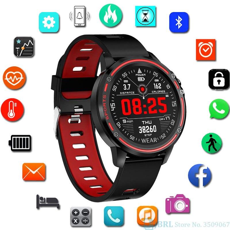 Digital do Esporte dos Homens Relógio de Pulso para Homens Relógio de Pulso à Prova Ecg + Ppg Relógio Relógios Eletrônicos Masculino Dwaterproof Água Hora Saúde Rastreador Led Mod. 115707