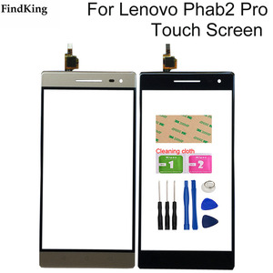 Image 1 - Touch Screen For Lenovo Phab 2 Phab2 Pro Touch Screen Front Glass Digitizer Sensor Repair Phone Tools Adhesive