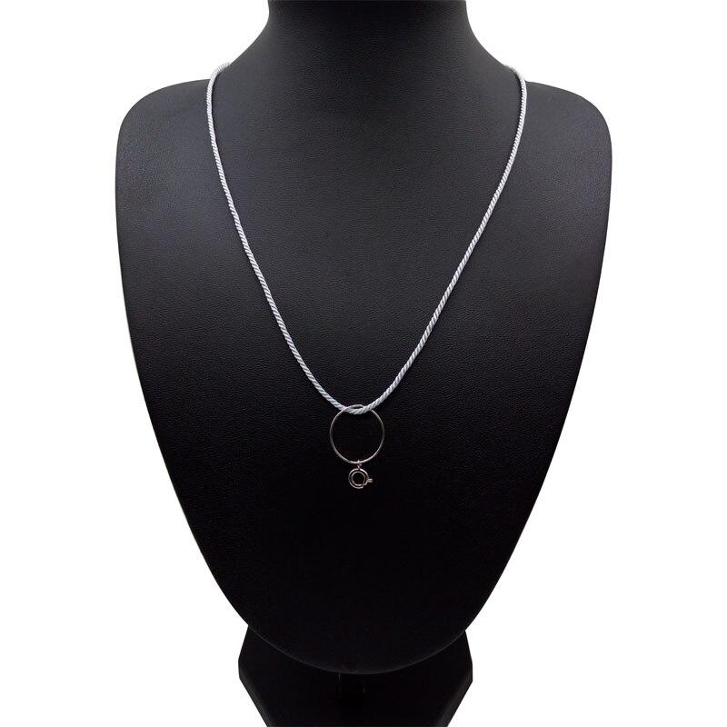 Мода цепь 2 мм веревки Милан Шарм отлично подходит для DIY изготовления ожерелья и подвески медь замок строка веревка аксессуары