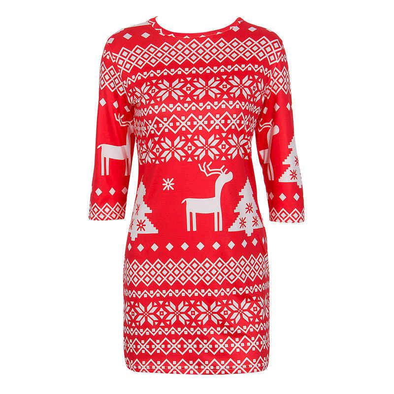 Nouvelles Femmes Élégantes Dame Sueurs Pull hauts pullover Manteau D'hiver De Noël