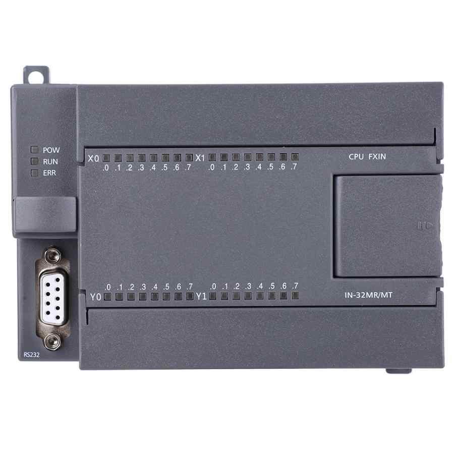 FX1N-32MR carte PLC anti-parasitage 16 relais sortie Programmable carte contrôleur logique DC 24V programmation informatique