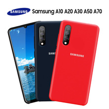 Samsung A70 Case Original Official Genuine Silicone Soft Shockproof Cover Galaxy A10 A20 A30 A50