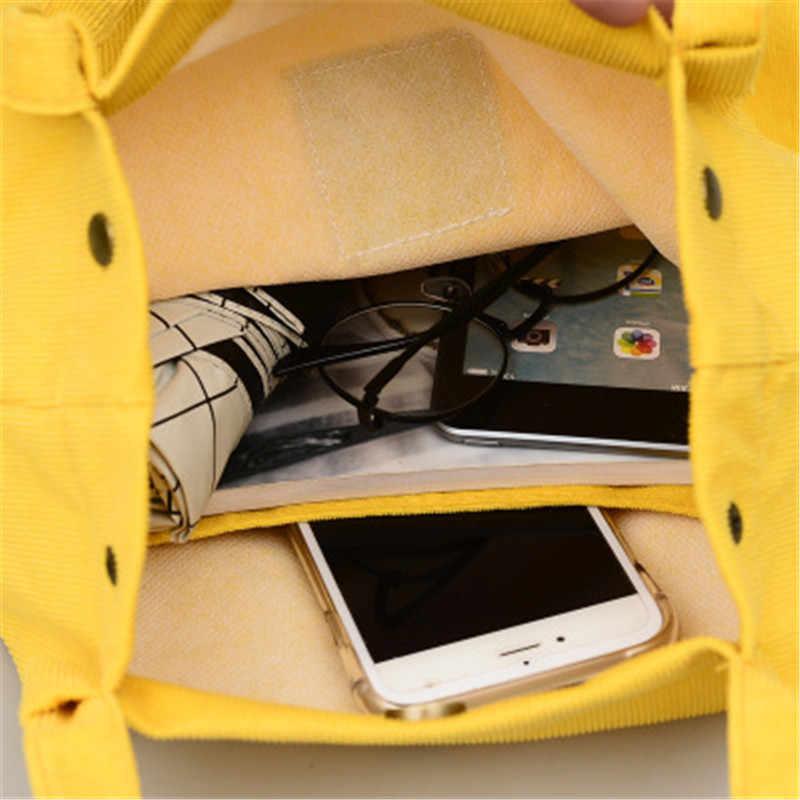 Женская многоразовая хозяйственная сумка через плечо Вельветовая сумка-шоппер Женская Повседневная сумка через плечо сумка Bolsa Feminina