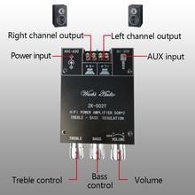 Digital TPA3116D2 Bluetooth 5.0 Subwoofer Amplifier Board 2.0 Channel Power Audio Stereo Amplifier Board 2*50W Bass AMP ZK 502T