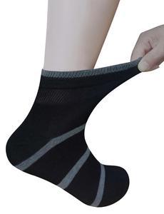 Image 5 - Calcetines tobilleros diabéticos de bambú para hombre con puntera sin costuras y Top sin encuadernación, 6 pares talla L (10 13)