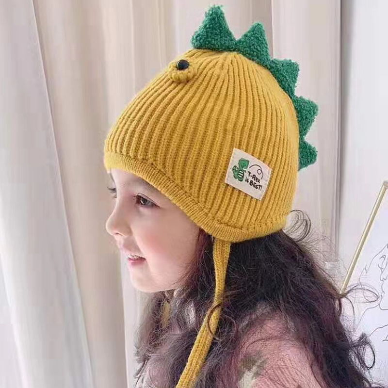H55fa09107b254841969d8fd0815b79a6d - Spring Autumn Baby Baseball Cap Cartoon Dinosaur Baby Boys Caps Fashion Toddler Infant Hat Children Kids Baseball Cap