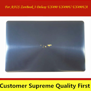 For Asus ZenBook 3V Deluxe UX490 UX3490 UX490U UX490UA UX490UAR Panel Glass Monitor LCD Display complete assembly Back cover(China)
