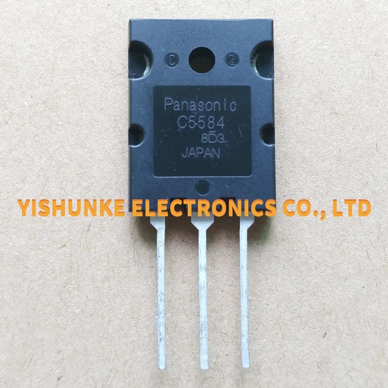 10 Uds C5584 2SC5584 TO-3PL 20A 1500V del Transistor de poder NPN