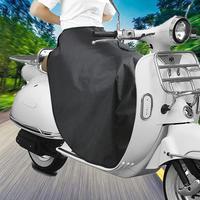 سكوتر مزود بمحرك الساق غطاء للحماية يندبروف مقاوم للماء الساق اللفة المئزر غطاء دافئ زجاج سيارة كهربائية على