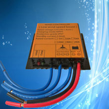 Controlador de carga gerador de energia eólica, controlador de carga para turbina eólica ac 12v/24v 10a 16a 20a 30a mppt regulador de vento de distinção automática