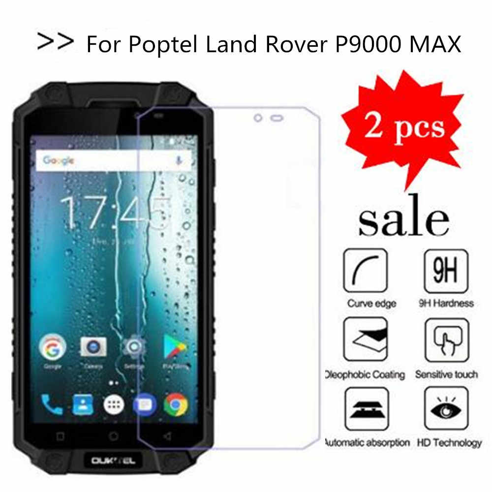 2PCS Glass For Poptel Land Rover P9000 MAX Screen Protector Tempered Glass For Poptel Land Rover P9000 MAX Protective Film