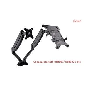"Image 5 - Lade Monitor Arm Houder Lade Partner Met DLB502D Fit Voor 10 "" 17"" Laptop Vesa Gat Moet Ondersteuning 75*75Mm"