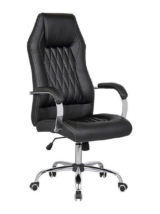 Office Armchair STOMPS, High, Gas, Tilt, Similpiel Black