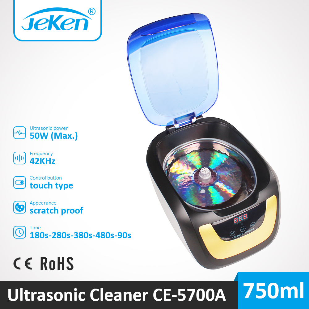 Record Disc Disk CD Ultrasonic Cleaner Vibrating 750ml Best Ultra Sonic Cleaning For Jewelry Watch Denture Coins Ultrasonic Tank