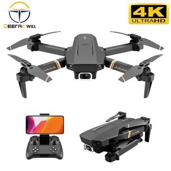 2020 nowy RC drone 4k WIFI wideo na żywo FPV 4K/1080P drony z HD 4k szerokokątny profesjonalny aparat quadrocopter dron zabawki