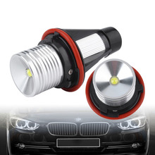 2 Pcs 6W E39 LED Car Lights Headlight Bulb Refit Lamp for BMW