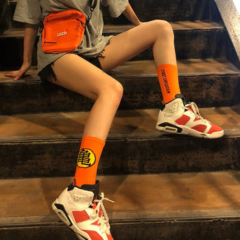 DRAGONBALL Wukong Turtle Harajuku Trend Cartoon Street Men's SOCK Skateboard Sports Cotton Women In the Stockings image