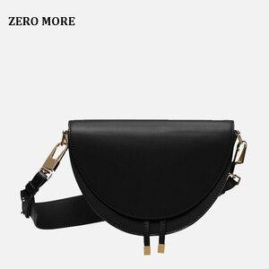 Image 2 - Femmes sac à bandoulière mode Crocodile demi cercle sacs de selle en cuir PU sacs à bandoulière pour femme sacs à main concepteur bolsas