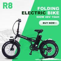 Bicicleta elétrica 500w 48v15ah 45km/h bateria dupla mountain bike elétrica 4.0 pneu gordo bicicleta elétrica praia e-bike