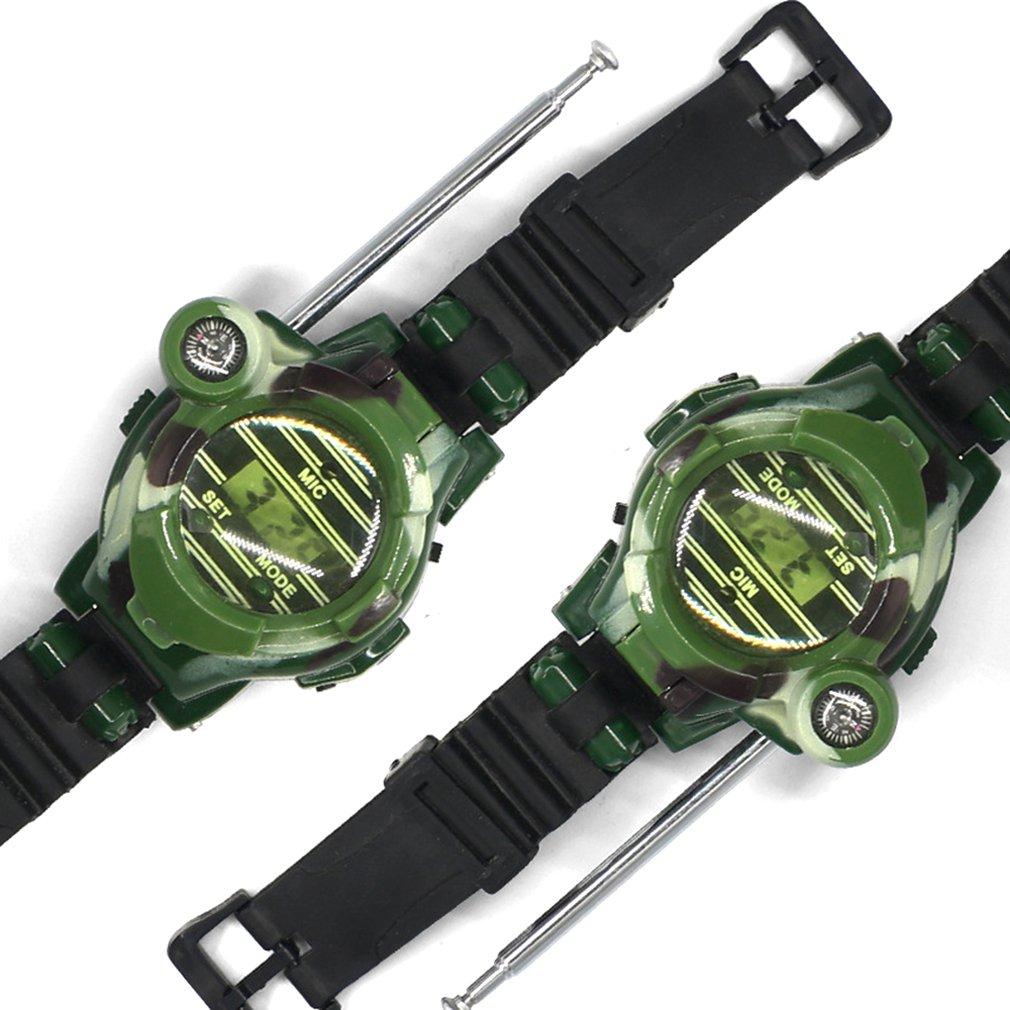 Camouflage Military Watch Wireless Walkie-Talkie Toy Seven In One Outdoor Children Walkie-Talkie Toy