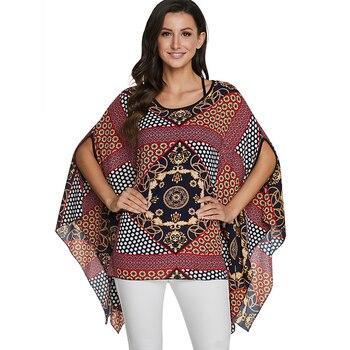blouse ethnique décontracté