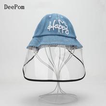 Bucket-Hat Full-Face Children Protective-Cover Fisherman-Cap Dustproof Travel Girls Outdoor