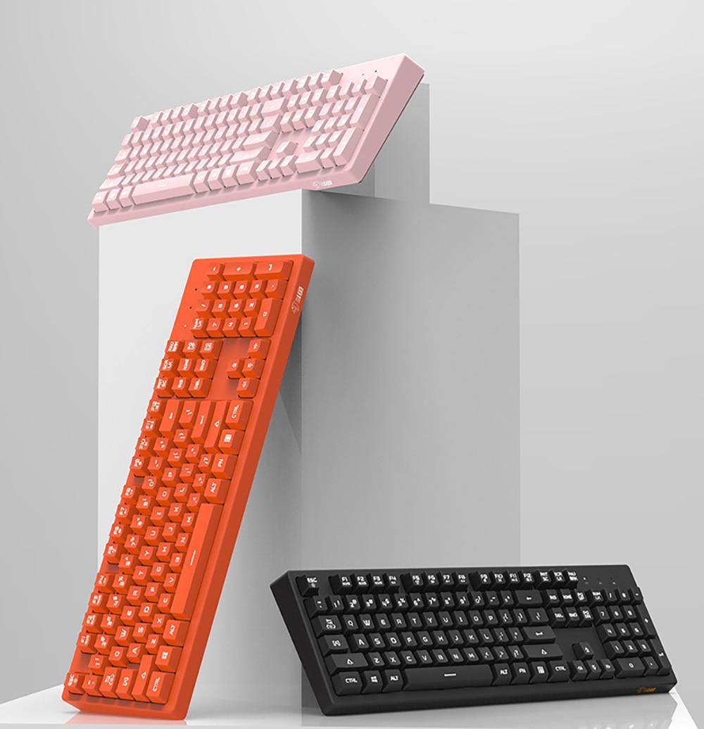 interruptor rosa teclado teclados de jogos para desktop pc