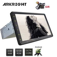 ARKRIGHT 8 1 Din 2GB+32GB Android 8.1 Octa Core Wifi Bluetooth DSP HD GPS Rear View Camera Carplay Music Universal Car Radio