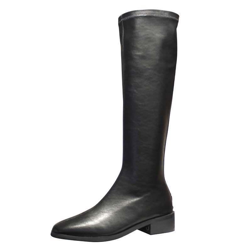 de joelho primavera e outono feminino botas