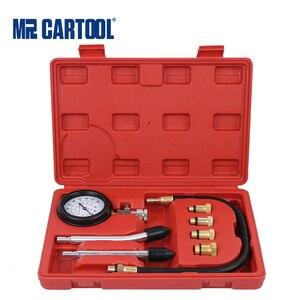 Image 1 - MRCARTOOL Engine Cylinder Pressure Gauge Compressor Tester Portable Gasoline Meter For Car Motorcycle Diagnostic Tool Kit
