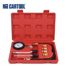 MRCARTOOL Motor Zylinder Manometer Kompressor Tester Tragbare Benzin Meter Für Auto Motorrad Diagnose Tool Kit