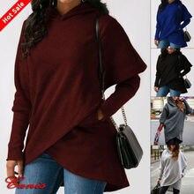 Goocheer 2019 New Plus Size Women Hoodies Sweatshirt Ladies Hooded Sweater Tops Jumper Pullover