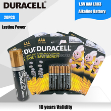 Alkaline-Battery Electric-Toothbrush LR03 DURACELL Flashlight 20PCS AAA for Toy Mouse-Clock