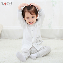 Baby Pajama Sets Uisex Sleepwear Robe Soft Cotton Cartoon Top Pants