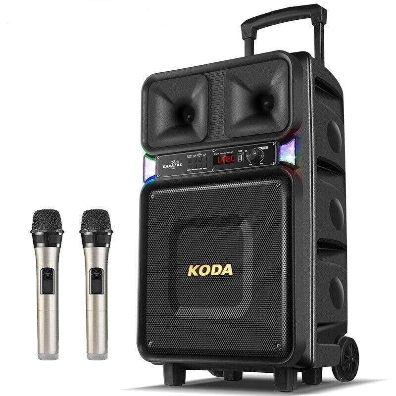 8''Bluetooth haut parleur stéréo basse 120W guitare haut parleur lumière colorée haut parleur haut parleur Mobile chariot haut parleur avec antenne - 2