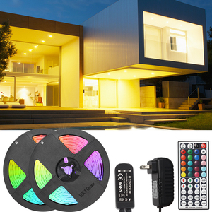 LED lights with RGB12v44 key infrared control New Year Christmas bedroom kitchen car interior decoration lights 5050 light bar