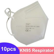 CE KN95 Face Mask ffp2 Dust Respirator Protective KN95 Mouth Masks Adaptable Against Pollution Breathable Mask Filter FFP2