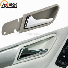 Carro cromado interior maçaneta da porta de prata lidar com kit de reparo para mercedes benz clase a w169 b w245