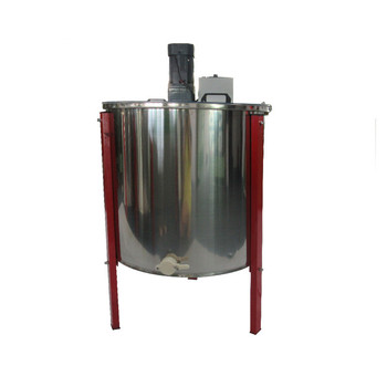 201 Stainless steel 6 Frame Electric Motor Honey Extractor image
