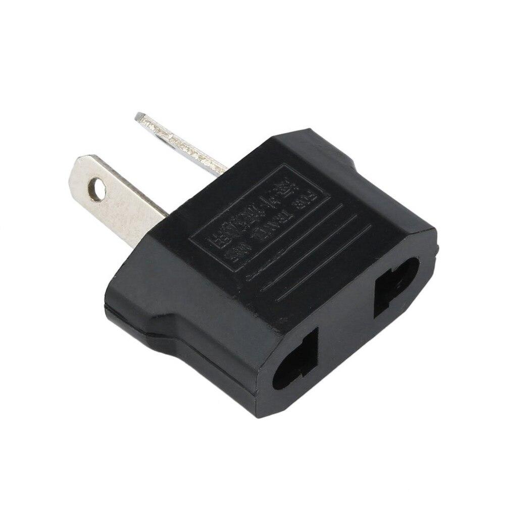 1 piezas de enchufe portátil AU Universal de viaje US o EU a AU adaptador de toma de corriente Adaptador convertidor de viaje al aire libre convertidor