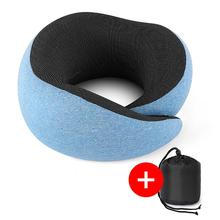 U-shaped Travel Pillow Car Seat Headrest Memory Pillows Travel Rest Neck Pillow Support Seat Head Cushion Pillow For Travel loen new memory foam functional neck pillow u shaped travel pillow car head neck rest pillow seat cushion for travel home office