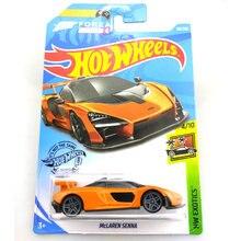חם גלגלים 1:64 רכב מקלארן סנה P1 720S אספן מהדורת מתכת Diecast דגם מכוניות ילדי צעצועי מתנה